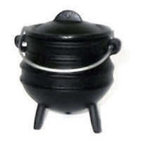 Cast Iron Mini Potjie Cauldron - 8 Oz