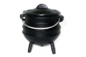 Small Pots Potjie Pots Cast Iron Cookware Cast Iron Cooking Pots, Potjie Pots, Cauldrons, Large Stew Pots, Camping Gear