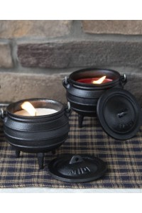 Cauldron Candle - Apple Cinnamon Potjie Pots Cast Iron Cookware Cast Iron Cooking Pots, Potjie Pots, Cauldrons, Large Stew Pots, Camping Gear