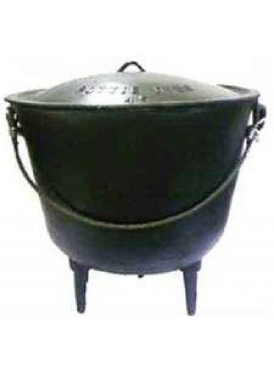 Potjie Cast Iron Kettle - 85 Gallon Size 85 at Potjie Pots Cast Iron Cookware, Cast Iron Cooking Pots, Potjie Pots, Cauldrons, Large Stew Pots, Camping Gear