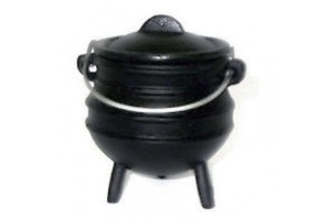 Small Pots Potjie Pots Cast Iron Cookware Cast Iron Cooking Pots, Potjie Pots, Cauldrons, Large Stew Pots, Camping Gear