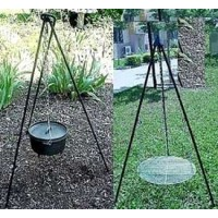 Heavy Duty Camping Tripod for Potjie Stew Pots