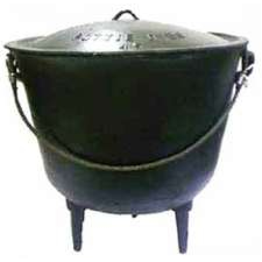 Potjie Cast Iron Kettle 85 Gallon Size 85